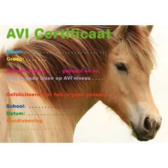 AVI certificaat 1058 paard