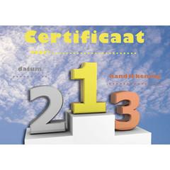 Diploma 1060 sport certificaat