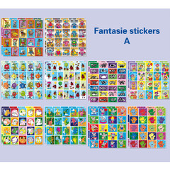 Stickerpakket fantasie (A)