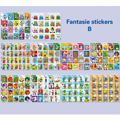 Stickerpakket fantasie (B)