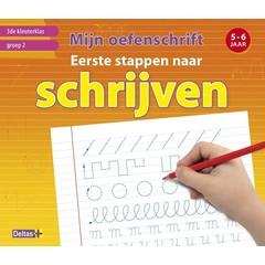 Mijn oefenschrift Eerste stappen naar schrijven (5-6 j.) 3de kleuterklas groep 2