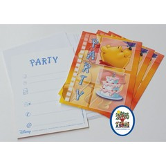 Winnie The Pooh  - Uitnodigingskaartjes