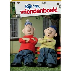 Vriendenboek Buurman & Buurman met GRATIS stickervel
