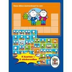 Stickers Frokkie en Lola en Dikke Duimenkaart