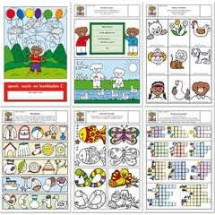Speel-, werk- en leermap (3c) voor 6 en 7 jarigen