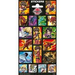 Stammetjes Stickers Bakuganbeelden Japan