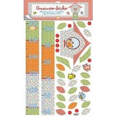 Stickers Pauline Oud groeimeter