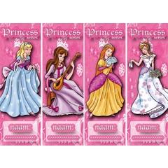 Boekenleggers prinsessen