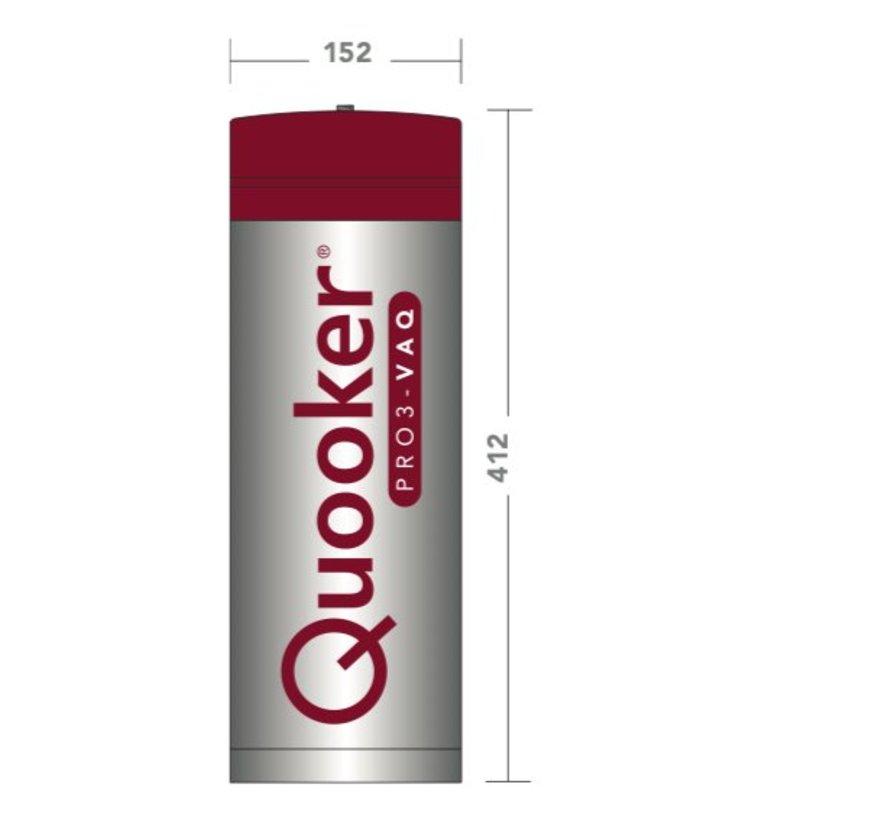 Quooker Pro3 Twintaps Round Chroom