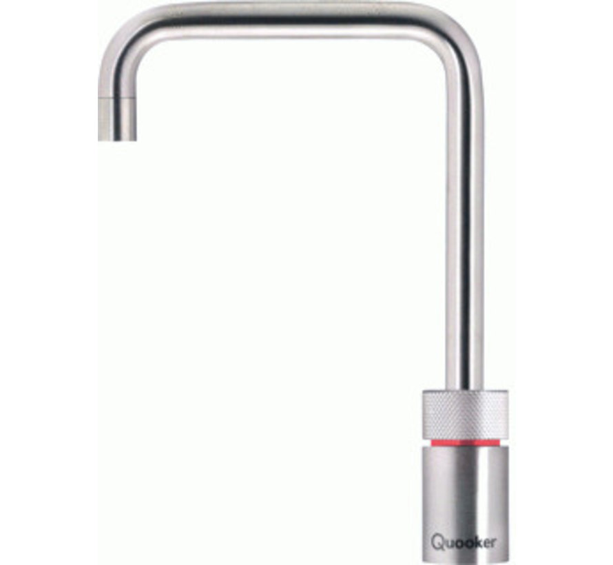 Quooker Pro3 Nordic Square Roestvrijstaal