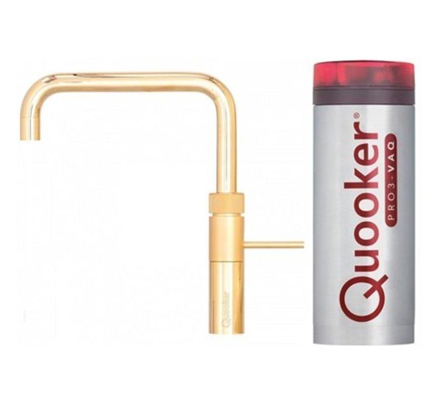 Quooker Pro3 Fusion Square Goud