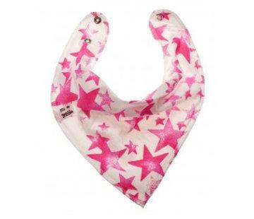 Bandana Bibble slabben Slab Pink Starlight