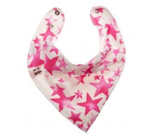 Bandana Bibble slabben Bandana Bibble Slab Pink Starlight
