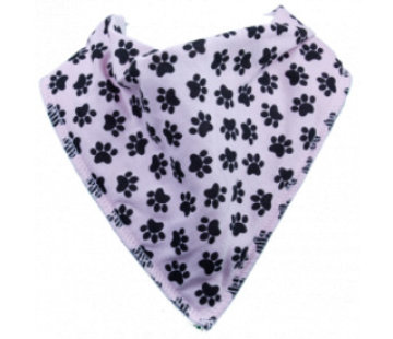 Bandana Bibble slabben Slab Pink Doggy