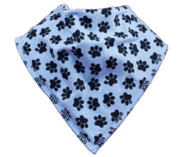 Bandana Bibble slabben Slab Blue Doggy
