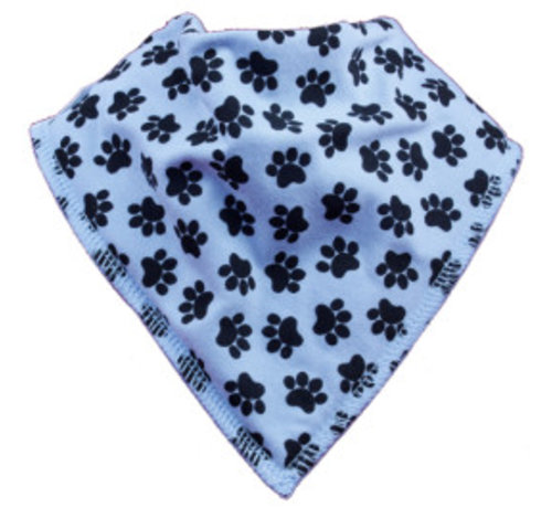 Bandana Bibble slabben Bandana Bibble Slab Blue Doggy