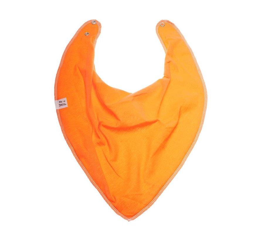 Bandana Bibble Slab Orange baby