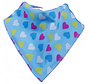 Bandana Bibble Slab Blue Heart