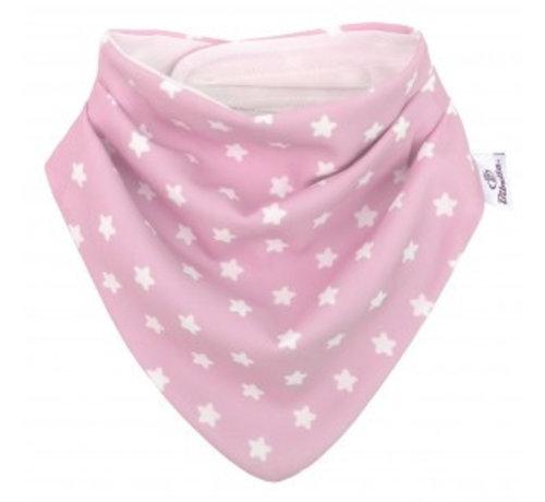 Bibetta  Bibetta Bandana Kwijlslab Pink Star