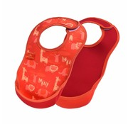 Bibetta  Ultrabib 2-pack Safari/ Rood