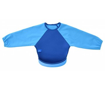 Bibetta  Mouwslab Denim Blauw/ Blauw
