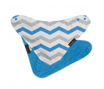 Mum2Mum Fashion Bandana Wonderslab Aqua Chevron