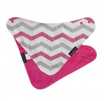 Mum2Mum Fashion Bandana Wonderslab Pink Chevron
