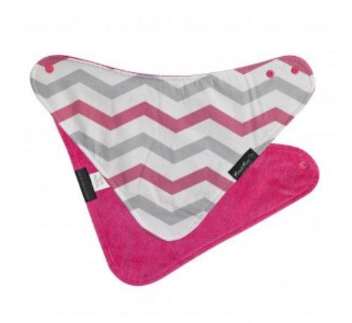 Mum2Mum Mum2Mum Fashion Bandana Wonderslab Pink Chevron