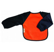 Silly Billyz Mouwslab Fleece Oranje/Marine
