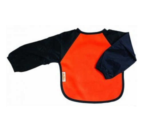 Silly Billyz Silly Billyz Mouwslab Fleece Oranje/Marine