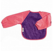 Silly Billyz Mouwslab Fleece Paars/Fuchsia