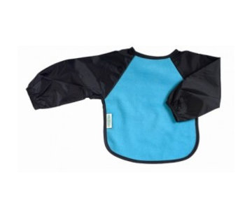 Silly Billyz Mouwslab Fleece Marineblauw/Aqua