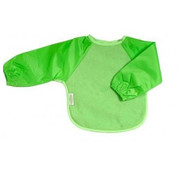 Silly Billyz Mouwslab Fleece Lime