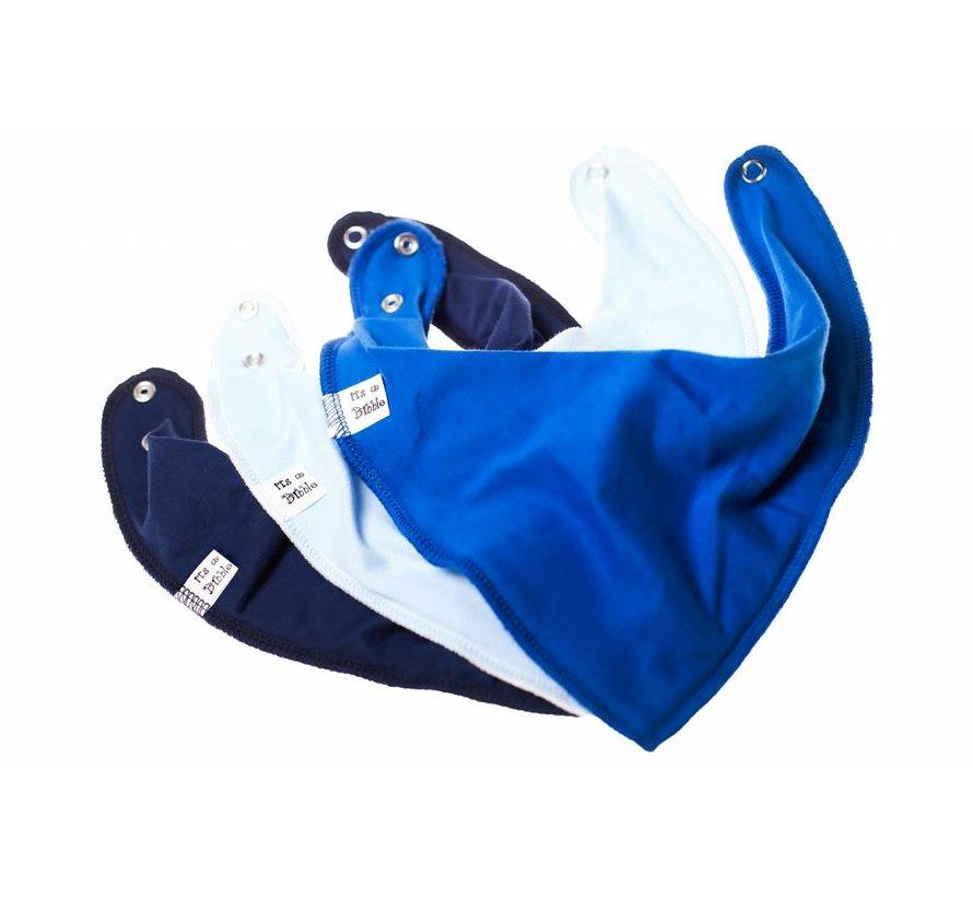 Bandana Bibble Slab Navy Blue