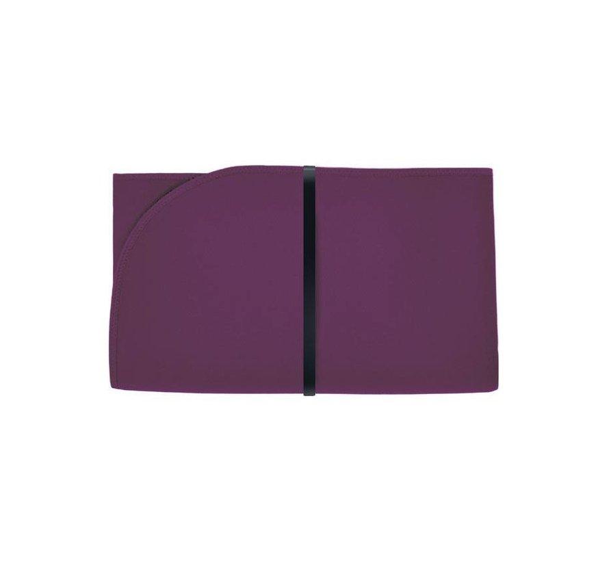 Bibetta opvouwbaar aankleedkussen XL aubergine