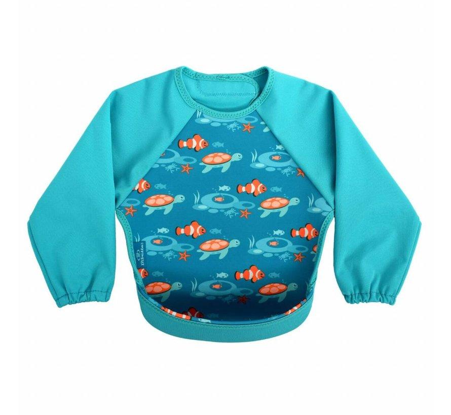 Bibetta Mouwslab Tropische Vis