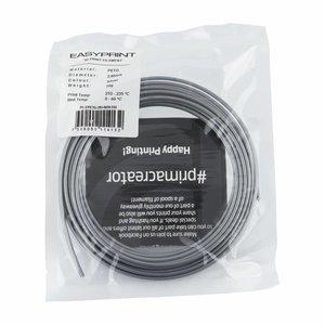 PrimaCreator EasyPrint PETG Sample - 2.85mm - 50 g - Solid Silver