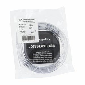 PrimaCreator EasyPrint PETG Sample - 2.85mm - 50 g - Clear