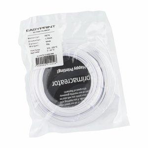 PrimaCreator EasyPrint PETG Sample - 1.75mm - 50 g - Solid White