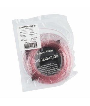 PrimaCreator EasyPrint PETG Sample - 1.75mm - 50 g - Transparent Rose
