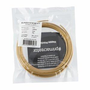 PrimaCreator EasyPrint PLA Sample - 2.85mm - 50 g - Gold