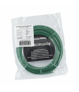 PrimaCreator EasyPrint PLA Sample - 2.85mm - 50 g - Green