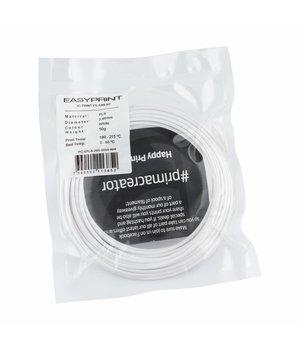 PrimaCreator EasyPrint PLA Sample - 2.85mm - 50 g - White