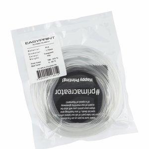 PrimaCreator EasyPrint PLA Sample - 1.75mm - 50 g - Tranparent