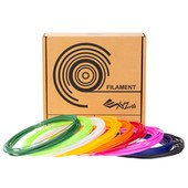 XYZPrinting 3D-Pen PCL Low Temp Filament 72g - 9 random colors - 8 meters of each color