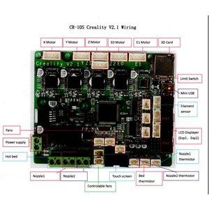 Creality Creality 3D CR-10S 400 Main board