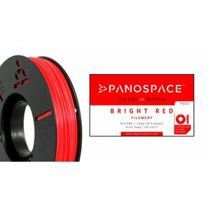 Panospace Panospace Filament - 1.75mm - PLA - Red