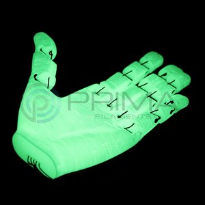 PrimaCreator PrimaSelect PLA Sample - 2.85mm - 50 g - Glow in the Dark Green