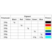 Polymorph Pigment  - 3g  -  Black