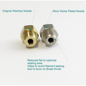 Micro Swiss Micro Swiss - Plated Wear Resistant Nozzle Duplicator 5 Series .4mm